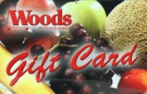 woods supermarket gift card