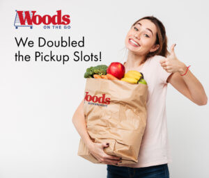 doubled grocery pickup slots