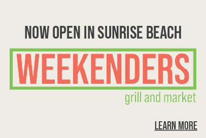 Weekenders Grill and Market Now Open in Sunrise Beach